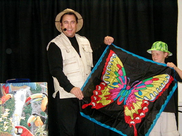 Mark H. Wurst Designs & Performs A Brand New Library Summer Reading Program Show Each Year